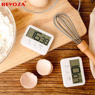 倒计时器厨房烘焙秒表声音大宜家用提醒磁铁日本电子定时记时间器