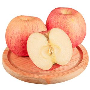 山东省烟台红富士苹果水果新鲜当季整箱现摘栖霞带箱10脆甜斤包邮