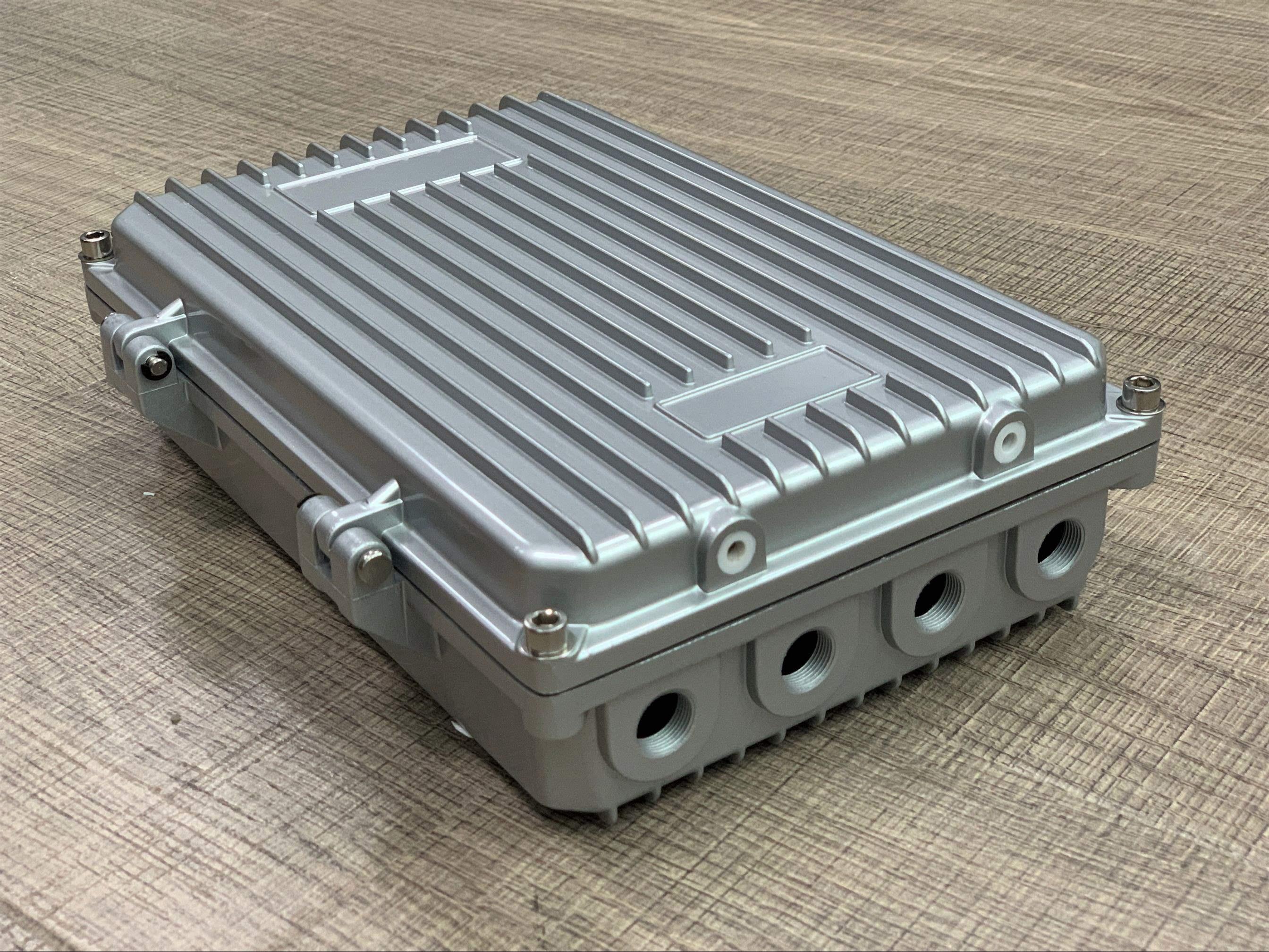 网桥167压铸020c260**68ap放大器外壳室外无线ap铝防水盒2020