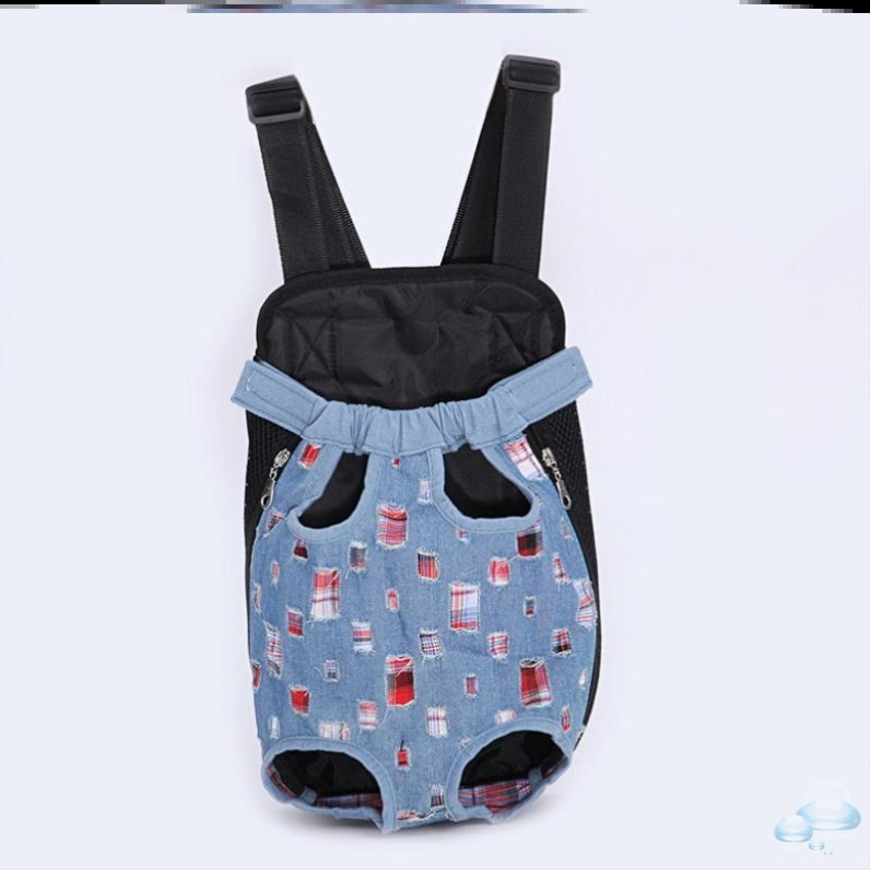 Go out chest backpack Teddy Dog Backpack medium sized carrying bag portable go out bag for summer.