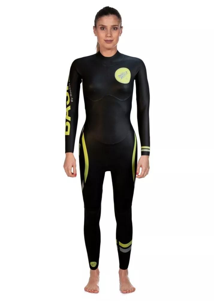 高档RSS 基础款 男士长袖防寒服胶衣 铁人三项游泳防寒泳衣 铁三