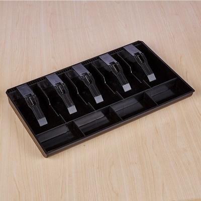 放钱的收纳盒商用超市抽屉收款使用家用收银盒钱柜抽屉式简易钞票