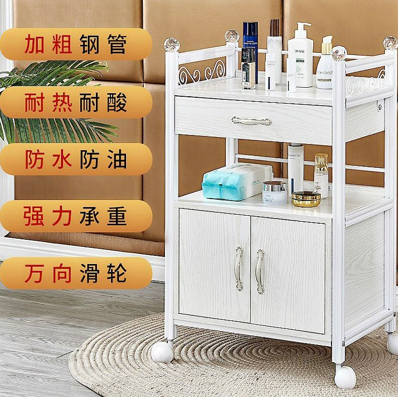 Gallery hairdressing cabinet tools Hotel haircut and barbers box portable design of hairdressers multifunctional large toolbox