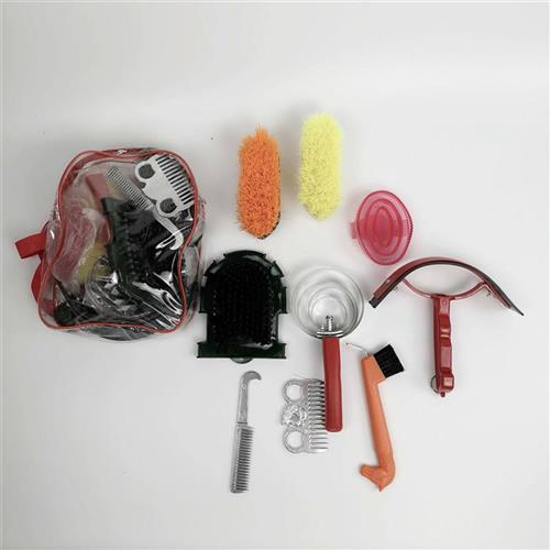 Tool combing brush tool stalling cleaning care brush horse cleaning set scratching comb cleaning brush