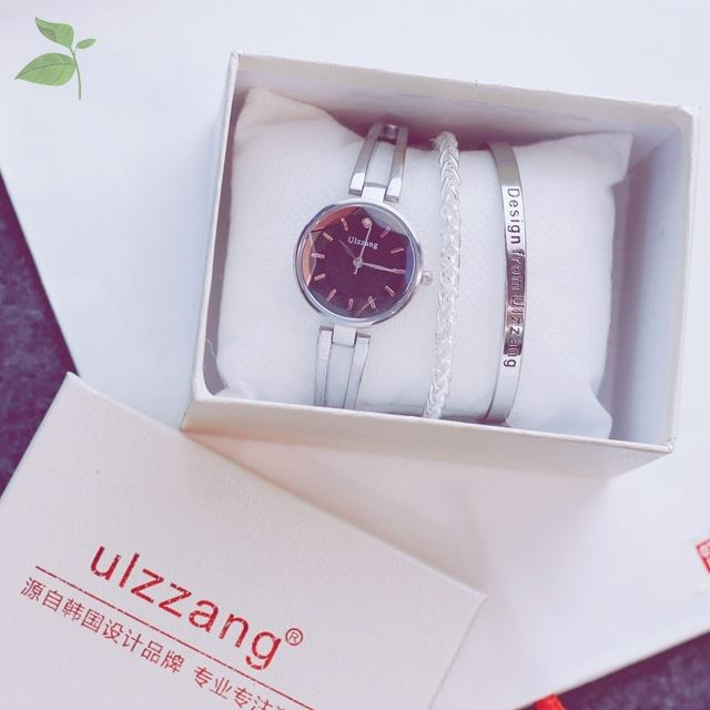 Girls waterproof strap watch chain with middle school students lovely special bracelet style forest temperament chain set