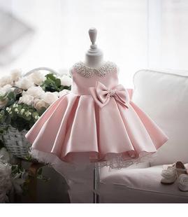 兒童網紅裙子爆款週歲公主裙抓周冬週歲宴公主裙週歲公主裙小禮服