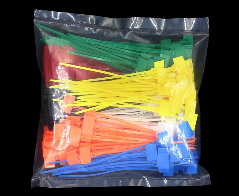 扎带活扣用品网线卡扣电缆标牌提示标识标记配件便捷卧室汽车排线