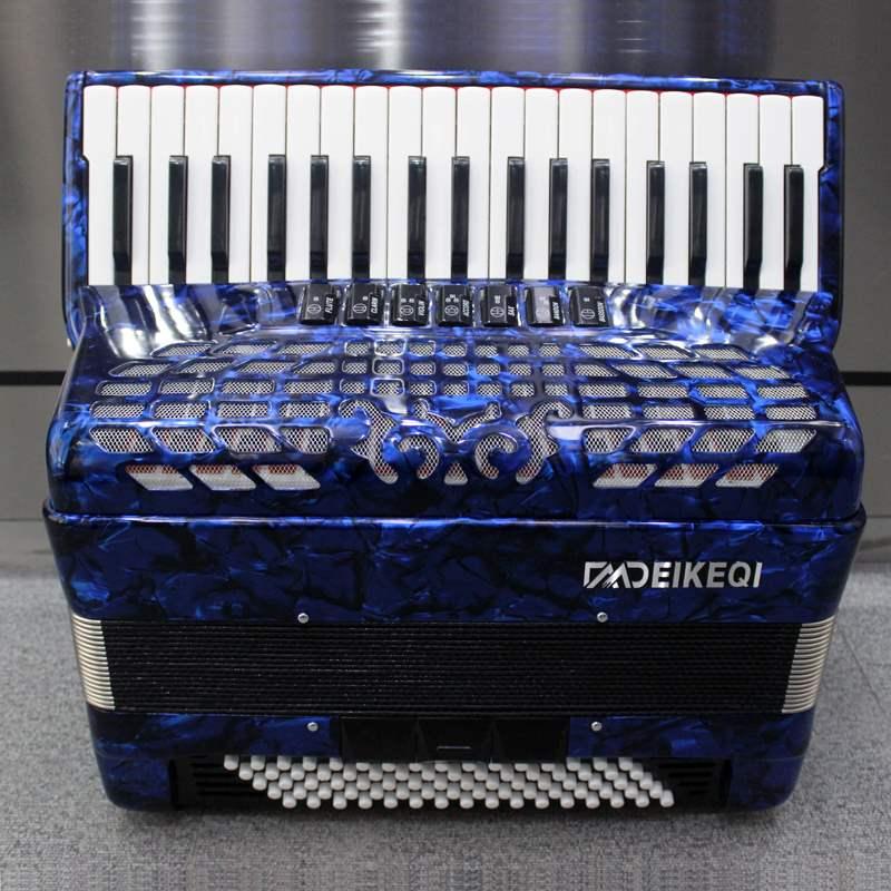 高档120贝斯96贝斯60贝斯37键进口手风琴初学专业演奏成人手风琴