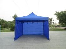 防水防风加厚帐篷围布地摊四脚帐篷布四角户外广告遮阳帐篷防雨布