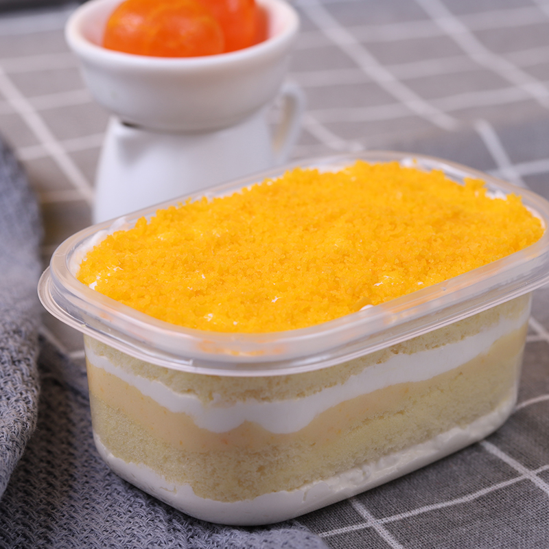 HEYYO喜乳酪  咸蛋黄盒子蛋糕下午茶零食糕点珠三角地区包邮