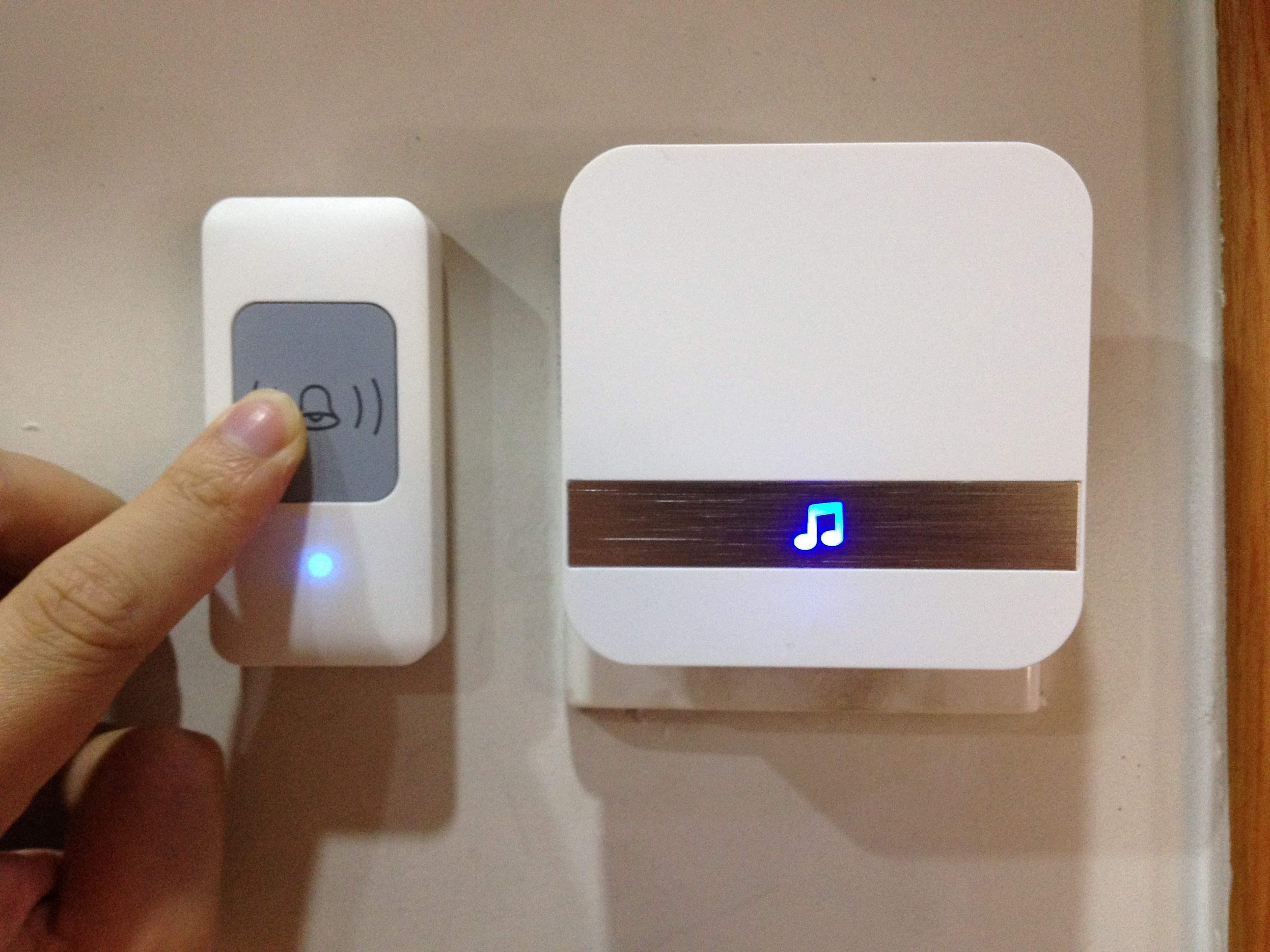 C上菜电铃提醒器无线点餐呼铃厨房家唤用门铃遥控呼叫病房饭店