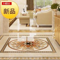 欧式客厅地板瓷砖拼花图案过h道走廊大厅入户1200x1200玄关地面砖