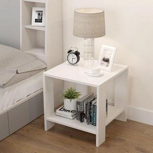 木質辦公室簡易小桌子台子放打印機飲水機小方桌辦公傢俱簡易小型