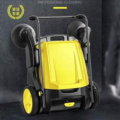 手推式扫地机工业商用无动力家用园林手扶防尘板车站保洁无电小巧