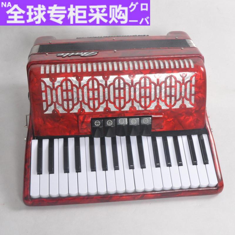 日本上海百乐牌手风琴40/60/120贝斯手风琴60BS手风琴三排簧手风