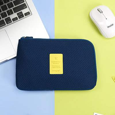 Thickened data line multi function travel storage bag arrangement shockproof storage bag electronic product accessories portable bag large