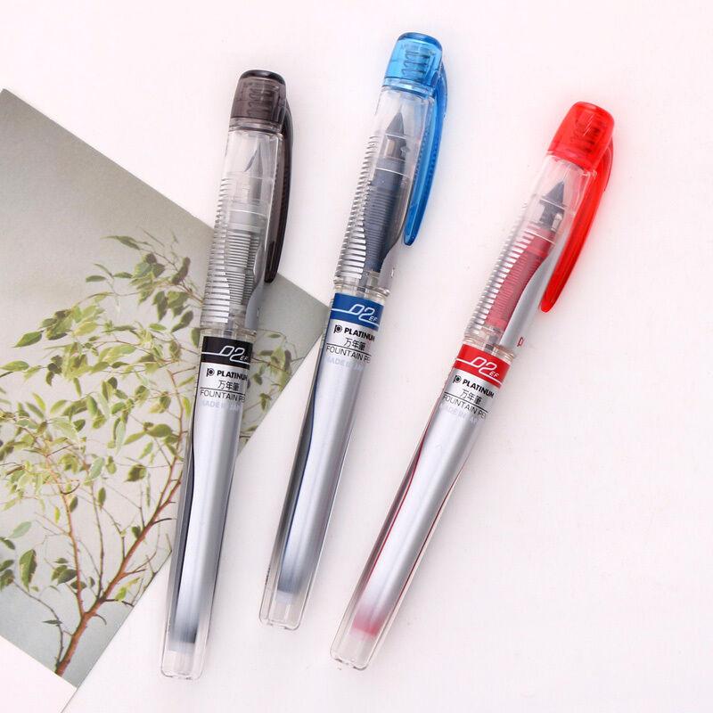 。白金(PLATINUM)PreppyII万年笔PPQ300/400C透明较细 学生钢笔EF