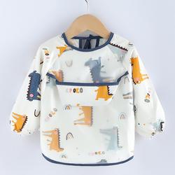 宝宝防水防脏吃饭罩衣
