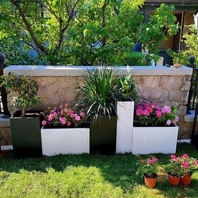 簡単に幼稚園の室外の栽培箱の花箱の組み合わせの服屋の足湯の店の入り口のロビーの戸外商人を予約します。