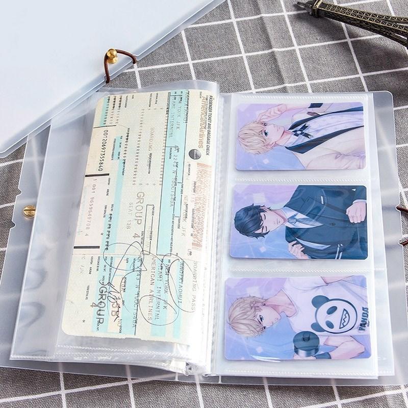 车票册子粮票收藏册邮票会员卡机票藏本集邮册保存票根存放。 Изображение 1