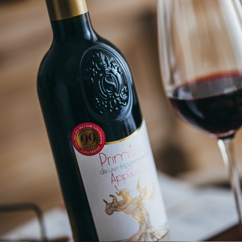 99 points primitivo rattan dry red traditional air drying process