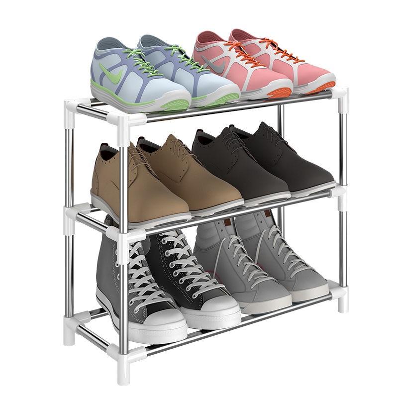 【带拉链】简易多层鞋架宿舍家用防尘布鞋柜门口组装鞋架收纳柜子