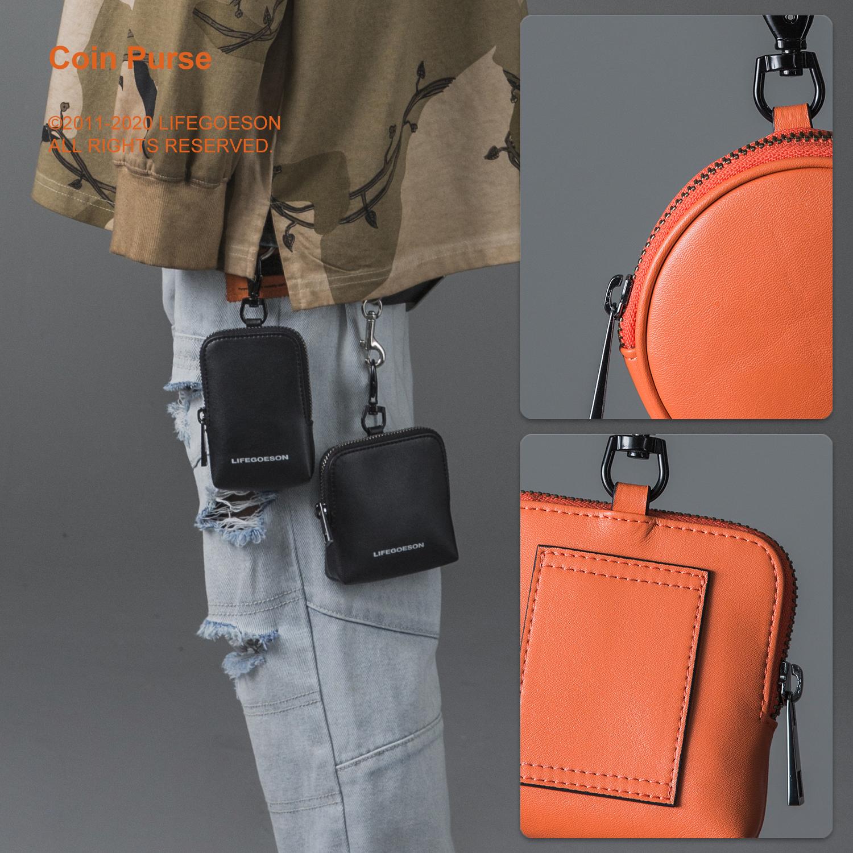 。LIFEGOESON 2020S/S 便携款多功能零钱包卡包迷你收纳包潮钥匙
