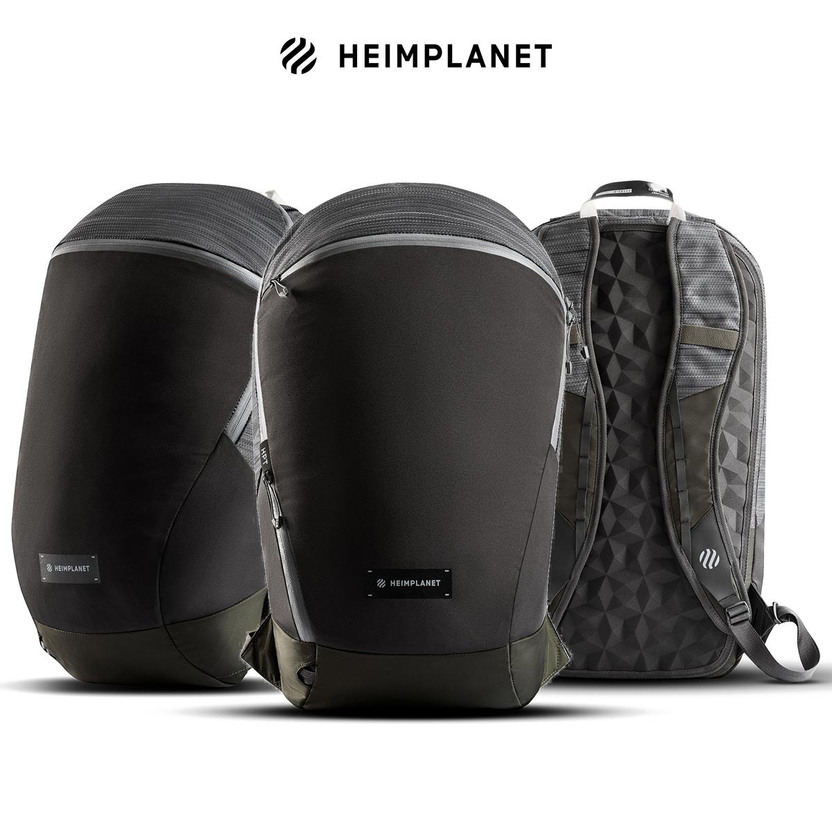 HEIMPLANET德国轻量ARC休闲背包20升肩带笔记本电脑3D塑形衬垫