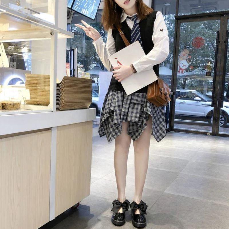 Japanese pink simple JK fashion soft girl soft bottom Lolita shoes summer Lolita junior high school students English