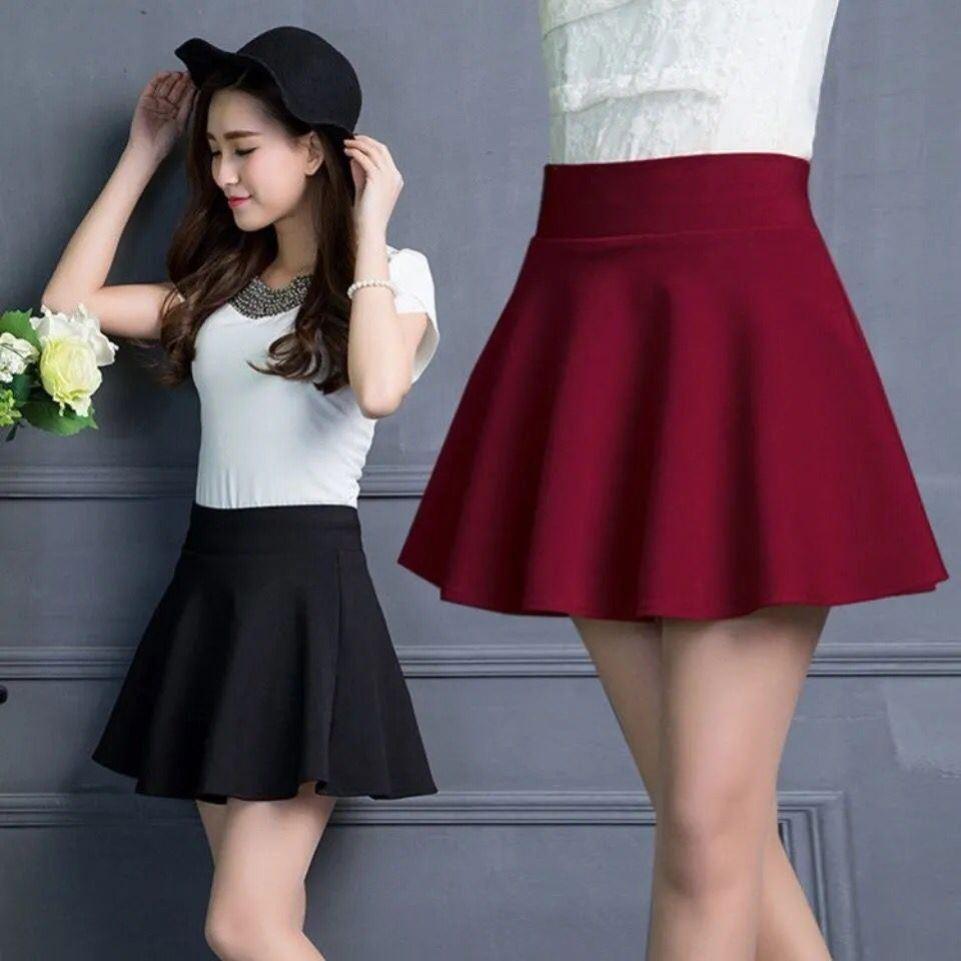 中國代購|中國批發-ibuy99|短裙|半身裙2021新款夏季小个子百搭中长款a字裙高腰显瘦短裙广场舞裙