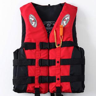 釣魚救生衣成人便攜式大浮力大人專業垂釣用海釣背心海上救身衣