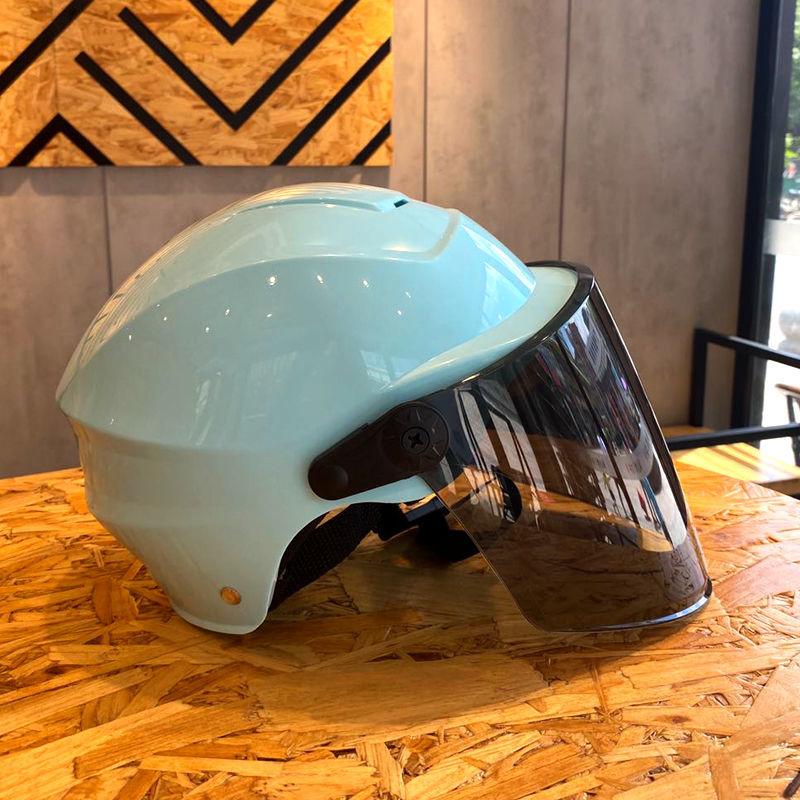 电动车头盔女四季通用头盔男摩托车头盔电动车男款安全帽头盔女款