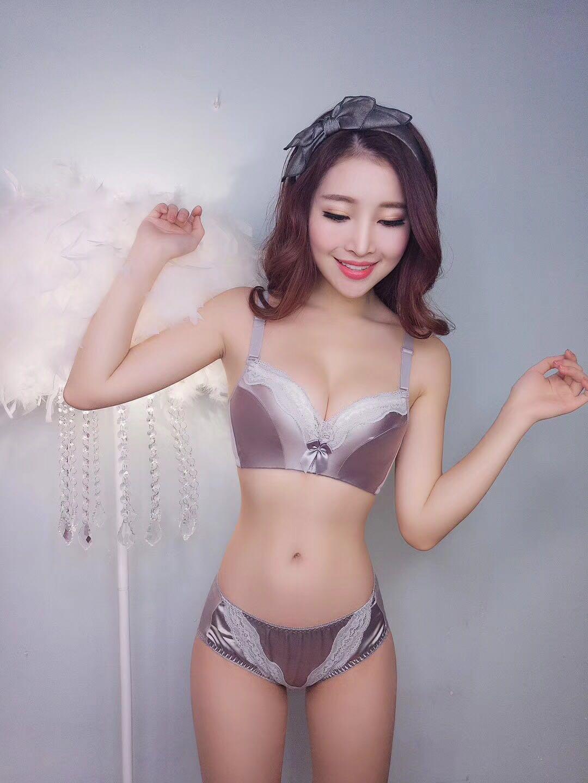 中國代購|中國批發-ibuy99|性感内衣|正品性感文胸上托聚拢无痕无钢圈调整型小胸加厚薄内衣女套装胸罩