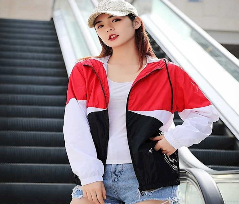 Sunscreen thin, student trend, double layer transport, 100 summer mens coat, Korean outdoor couples top