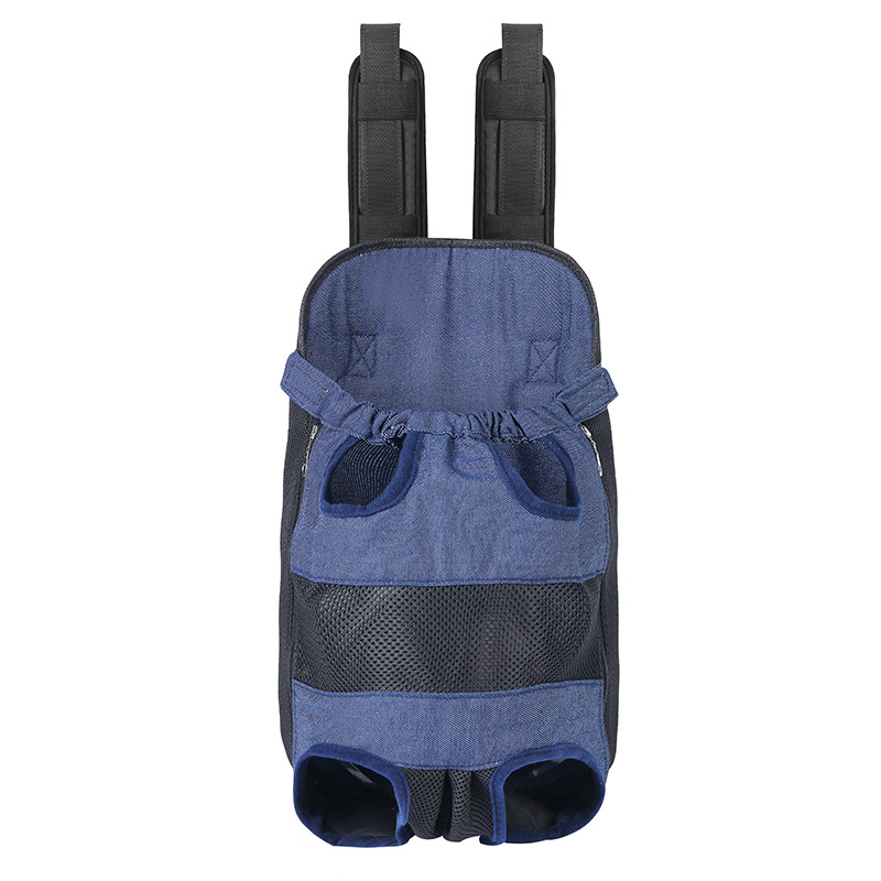 New heavy Pet Dog Backpack medium sized dog chest backpack pet breathable 25 kg pet backpack.