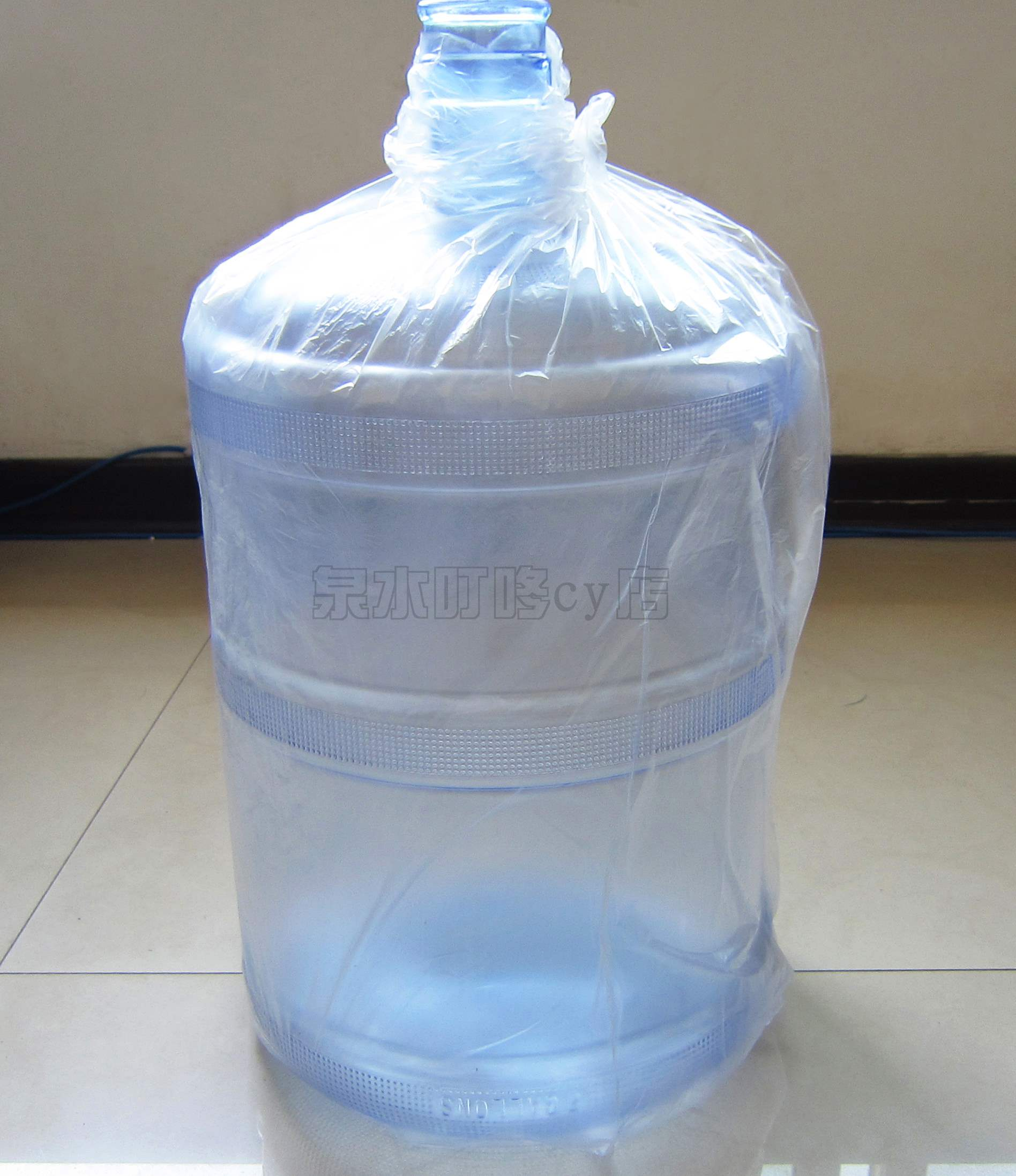 Pure water barrel outer packing bag film barrel water barrel packing bag dust-proof bag mineral water barrel plastic bag packing film