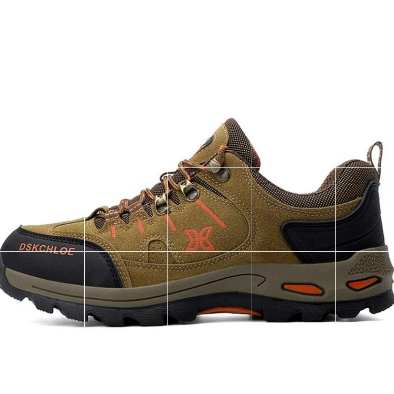新款情侣登山鞋男女防水防滑耐磨低帮旅行爬山户外鞋履沙漠徒步鞋