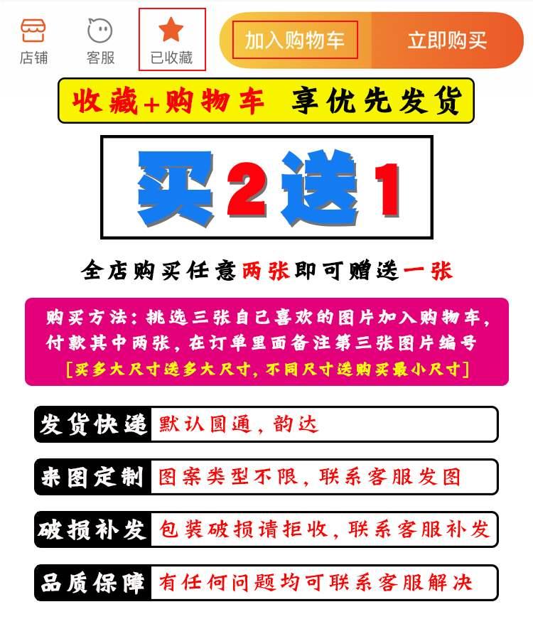 Xia Mu Gui Zhi cartoon hanging picture customized large wallpaper scroll two dimensional Poster