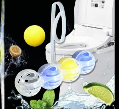 Wall cleaning toilet, scent deodorant, decontamination, solid tiktok, fresh household mounted toilet toilet cleaning ball.