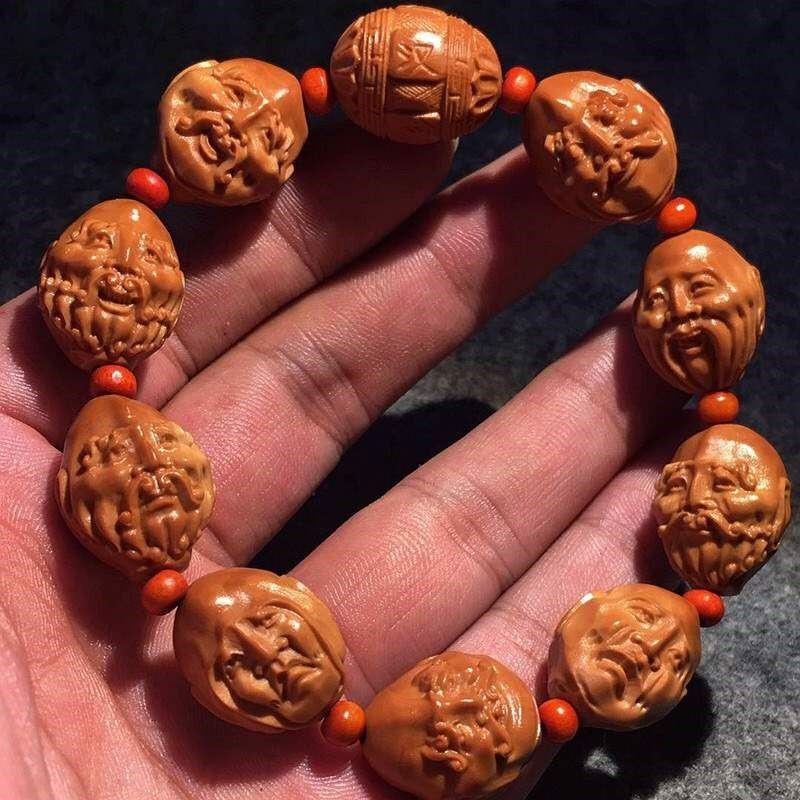 Разные сувениры из косточек фруктов Артикул 636732842606