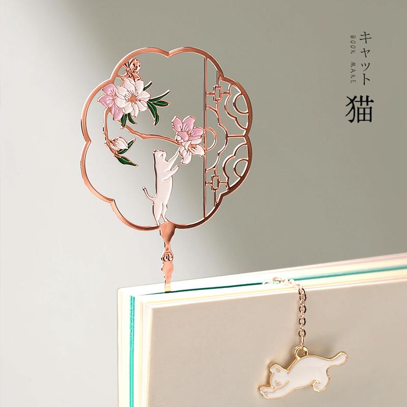 中国风北京特色工艺品脸谱书签套装出国礼品送外国人老外的小礼物