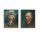 自画像 梵高头像人物印刷仿制油画客厅卧室挂画无框画背景装饰画 mini 0