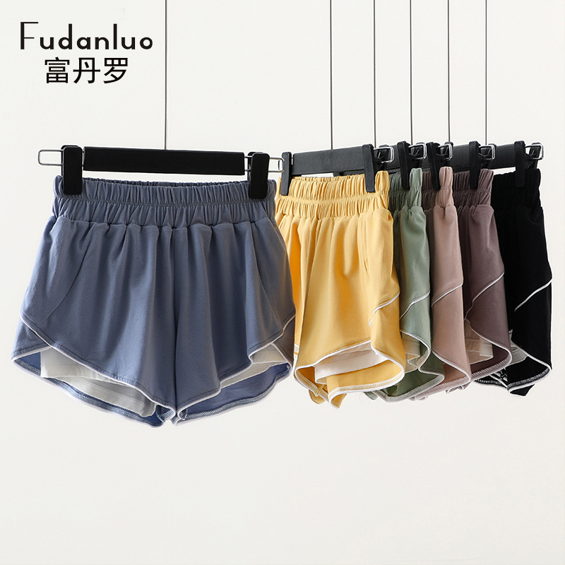 2021 summer pure cotton shorts womens outer wear and inner wear leggings slim fit Korean sports YOGA SHORTS