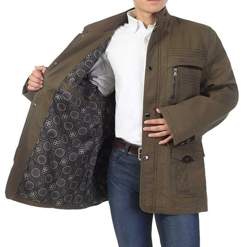 . Middle aged and old mens oversized coat, spring and autumn fat plus oversized jacket, leisure jacket, fat Dad