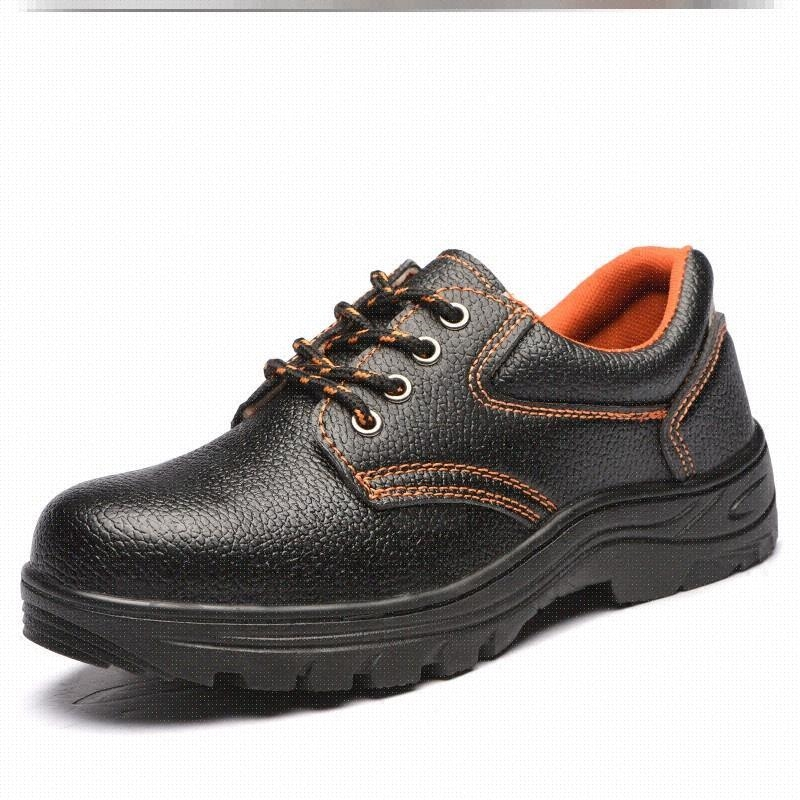 Labor protection shoes mens work light, increase deodorant leisure four seasons iron shoes sports wear-resistant construction site low top comfortable