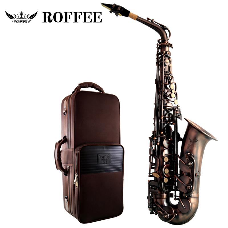 正品德国ROFFEE罗菲 中音萨克斯管乐器降E调初学复古萨克斯专业演