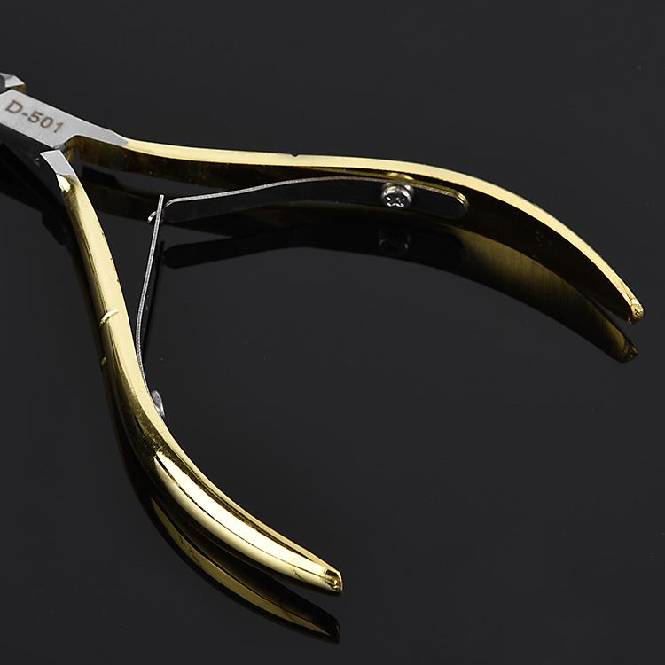 修去死护理死甲剪去不锈钢d501皮剪刀皮脚指甲钳倒刺美甲钳子工具