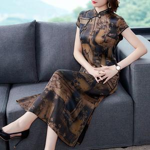 2021年新款重磅桑蚕丝改良版连衣裙