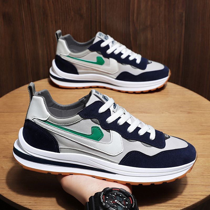 Guochao 615 safino autumn 2021 new Forrest Gump shoes mens ins dad shoes double hook sports casual shoes