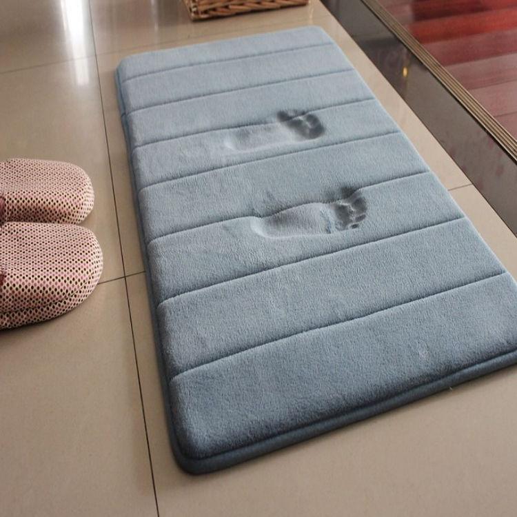 优惠浴室卫生间进门门口地垫吸水门垫厕所防滑垫卫浴脚垫卧室加厚